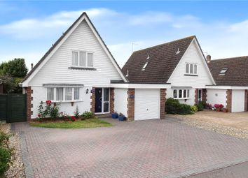 Thumbnail 3 bed detached house for sale in The Dell, Angmering, West Sussex