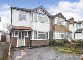 Thumbnail 3 bed semi-detached house for sale in Molesey Park Road, West Molesey