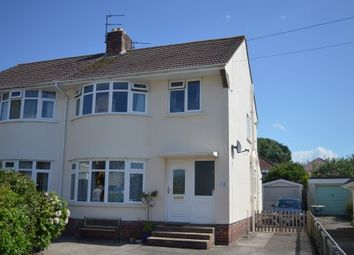 Thumbnail 3 bed property for sale in Drysdale Close, Weston-Super-Mare