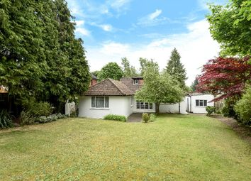 Thumbnail 4 bed detached bungalow for sale in Trotsworth Avenue, Virginia Water