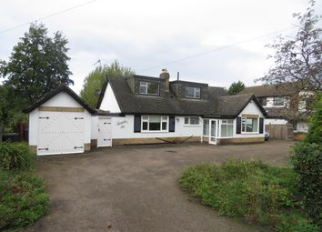 Thumbnail 4 bed detached bungalow to rent in Stretton Road, Great Glen, Leicester