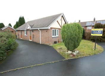 Thumbnail 2 bed detached bungalow for sale in Park Lane, Knypersley, Biddulph