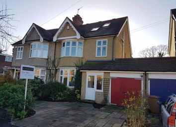 Thumbnail 5 bed semi-detached house for sale in Ringwood Avenue, Redhill, Surrey
