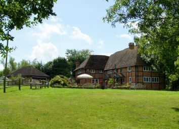 Thumbnail 5 bed detached house for sale in The Village, Ashurst, Steyning, West Sussex
