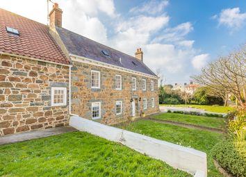 Thumbnail 6 bed farmhouse for sale in Rue Du Gree, St. Pierre Du Bois, Guernsey