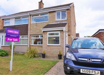 Thumbnail 3 bed semi-detached house for sale in Elgin Road, Thornaby