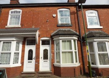Thumbnail 2 bed terraced house for sale in Medley Road, Sparkhill, Birmingham, West Midlands