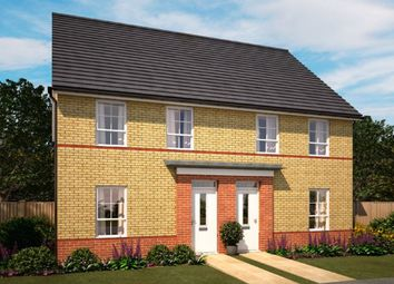 "Thumbnail 3 bed semi-detached house for sale in ""Finchley"" at Knights Way, St. Ives, Huntingdon"