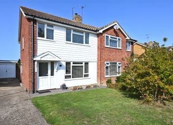 Thumbnail 3 bed semi-detached house for sale in Park Close, Hurstpierpoint, West Sussex