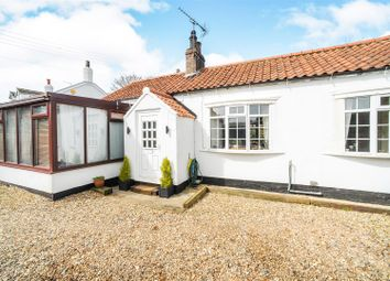 Thumbnail 2 bed semi-detached bungalow for sale in Brickyard, Catwick, Beverley