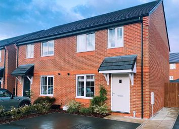 Thumbnail 3 bed semi-detached house for sale in West Lodge Road, Whittingham, Preston