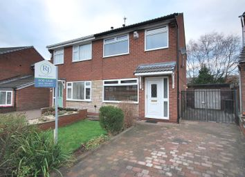 Thumbnail 2 bed semi-detached house for sale in Millfield Drive, Boothstown, Worsley, Manchester