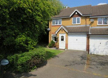 Thumbnail 3 bed semi-detached house for sale in Hammersmith Close, Nuthall, Nottingham