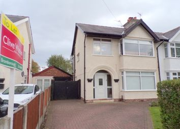 Thumbnail 3 bed semi-detached house to rent in Kilburn Avenue, Eastham, Wirral