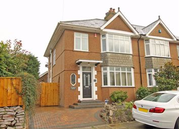 Thumbnail 4 bed semi-detached house for sale in Stanbury Avenue, Crownhill, Plymouth