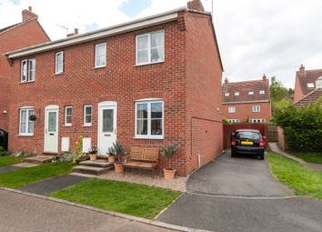 Thumbnail 2 bed semi-detached house for sale in Frost Fields, Castle Donington, Derby