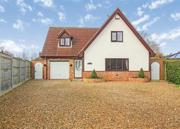 Thumbnail 3 bed detached house for sale in New Road, Brandesburton, Driffield