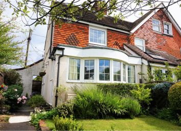 Thumbnail 2 bedroom end terrace house for sale in Frenchmans Road, Petersfield