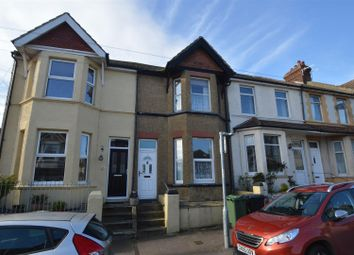 Thumbnail 4 bed terraced house for sale in Sidley Street, Bexhill-On-Sea