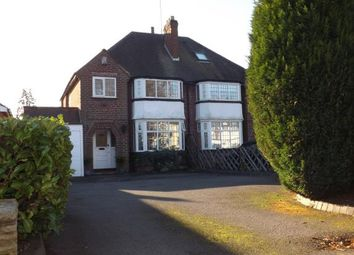 Thumbnail 3 bed semi-detached house for sale in Widney Lane, Solihull, West Midlands