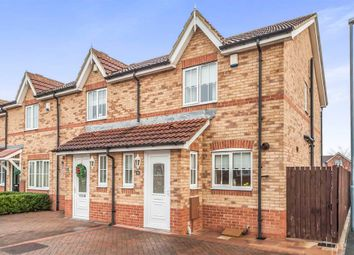 Thumbnail 2 bed end terrace house for sale in Fulbeck Close, Hartlepool