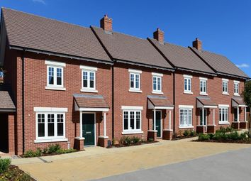 "Thumbnail 2 bedroom terraced house for sale in ""Amber"" at Greenkeepers Road, Great Denham, Bedford"
