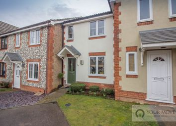 Thumbnail 2 bed terraced house for sale in Peak Dale, Carlton Colville, Lowestoft