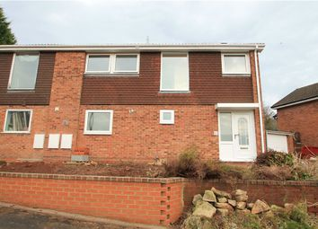 Thumbnail 4 bedroom semi-detached house for sale in Pebworth Close, Redditch