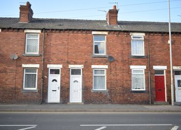 Thumbnail 2 bed terraced house for sale in Weeland Road, Sharlston Common, Wakefield