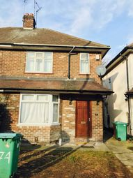 Thumbnail 3 bed semi-detached house to rent in Beeston Road, Nottingham