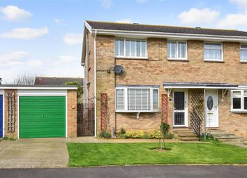 Thumbnail 3 bedroom semi-detached house for sale in Halford Close, Sandown, Isle Of Wight