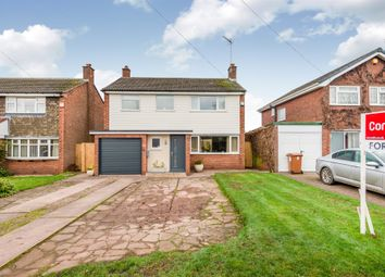 Thumbnail 3 bed detached house for sale in Porlock Avenue, Stafford