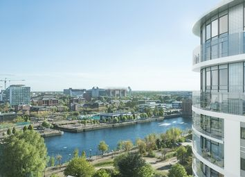 Thumbnail 3 bed flat for sale in Waterfront Quay, Manchester