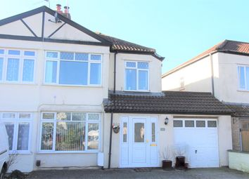 Thumbnail 4 bedroom end terrace house for sale in Thornbury Road, Alveston, Bristol