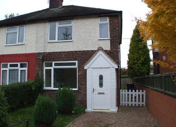 Thumbnail 3 bedroom semi-detached house to rent in Collard Avenue, Newcastle-Under-Lyme