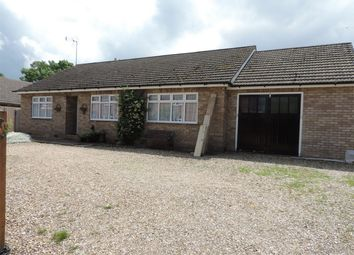 Thumbnail 3 bed detached bungalow to rent in Ford Lane, Morton, Bourne, Lincolnshire