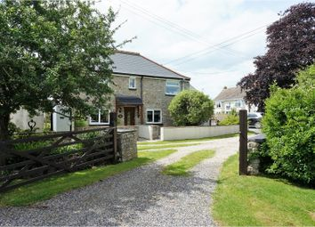 Thumbnail 4 bed country house for sale in Biddisham, Axbridge