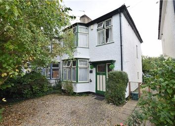 Thumbnail 3 bed semi-detached house for sale in Cavell Road, Oxford