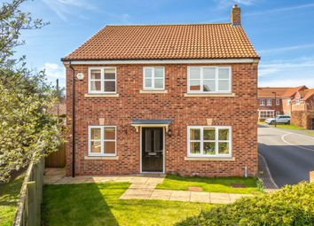 Thumbnail 4 bed detached house for sale in Dunelm Farm Close, Riccall, York