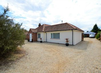 Thumbnail 3 bed bungalow for sale in Cromer Road, Hevingham, Norwich