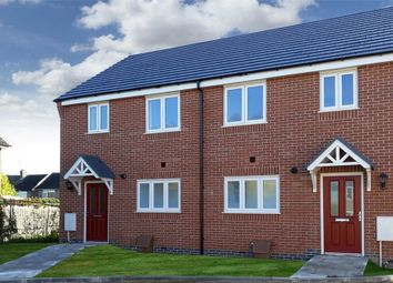 Thumbnail 3 bed semi-detached house for sale in Moncrief Drive, Asfordby, Melton Mowbray, Leicestershire