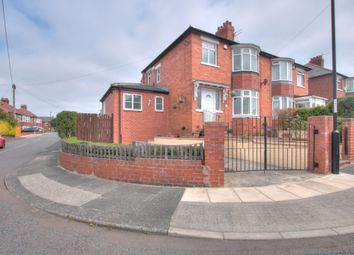 Thumbnail 3 bed semi-detached house for sale in Countess Drive, Denton Burn, Newcastle Upon Tyne