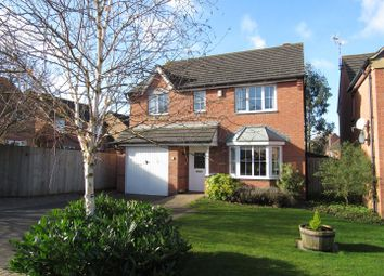 Thumbnail 4 bed detached house for sale in Dennis David Close, Lutterworth