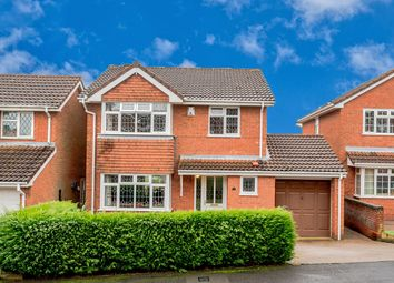 Thumbnail 4 bed detached house for sale in St. Francis Close, Hednesford, Cannock