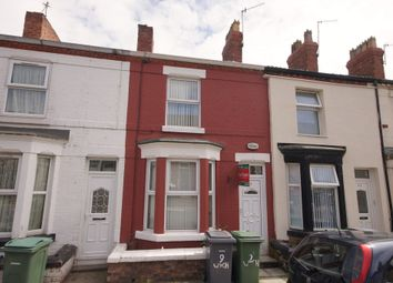 Thumbnail 2 bed terraced house for sale in Wycherley Road, Tranmere, Birkenhead