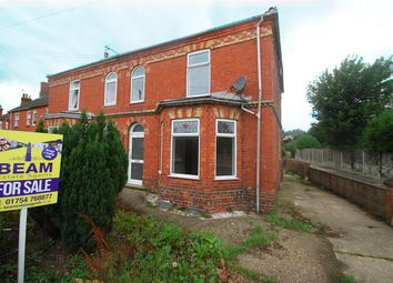 Thumbnail 3 bed semi-detached house for sale in South End, Hogsthorpe, Skegness
