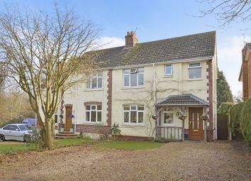 Thumbnail Semi-detached house for sale in Church Road, Three Legged Cross, Wimborne