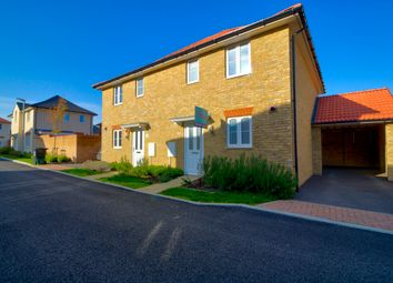Thumbnail 3 bed semi-detached house for sale in Lamplight Gardens, Aylesham, Canterbury