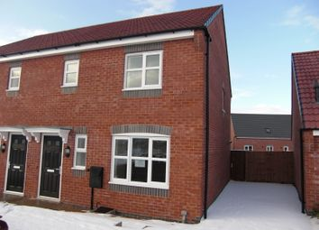 Thumbnail 3 bed semi-detached house to rent in Stillington Crescent, Leicester