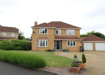 Thumbnail 4 bed detached house for sale in Cardyke Drive, Baston, Market Deeping, Lincolnshire